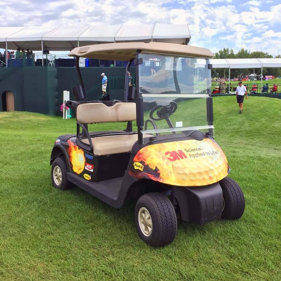 Brand Ink 3M Golf Cart Wrap