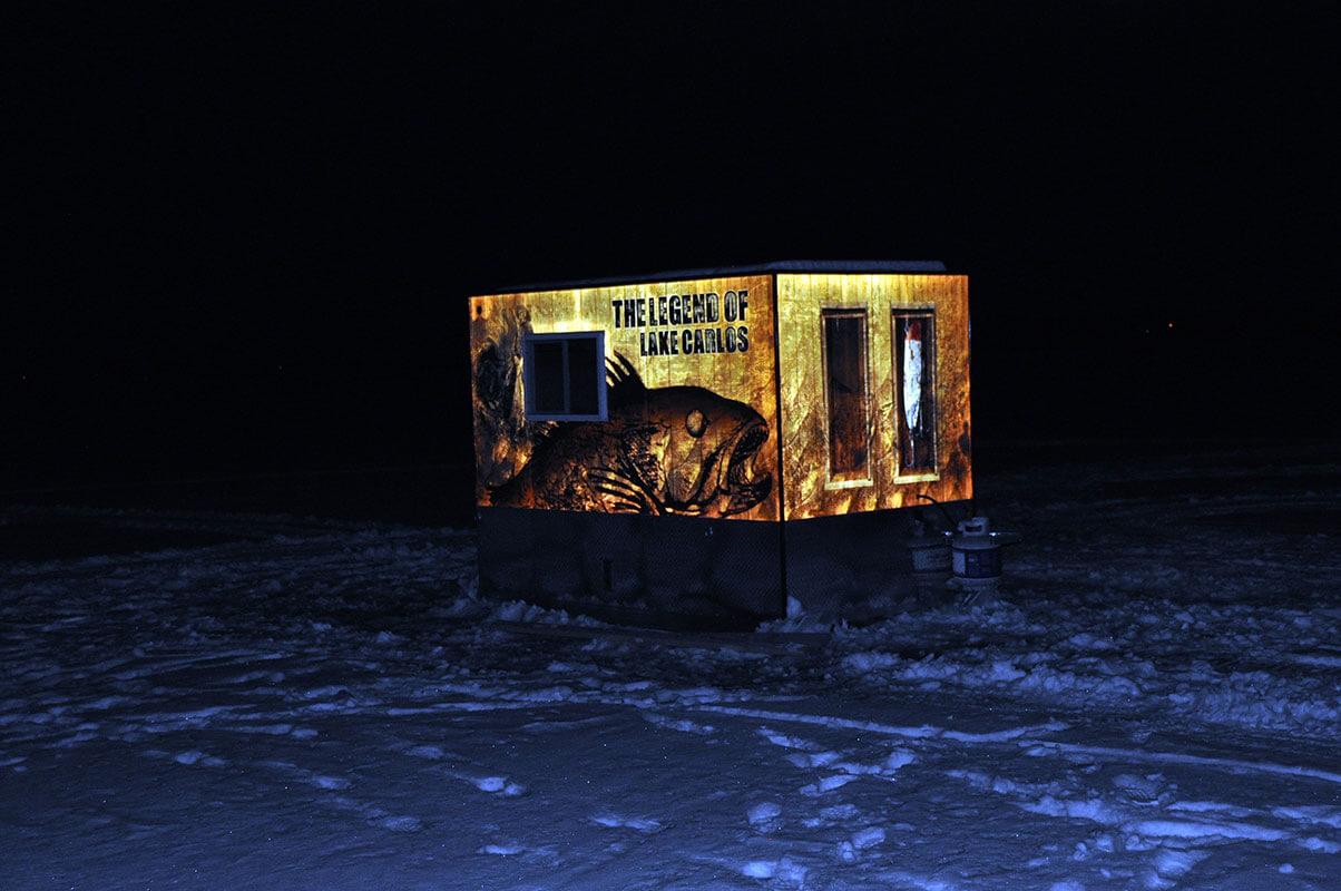 Brand Ink Ice Fishing Shack Reflective Wrap