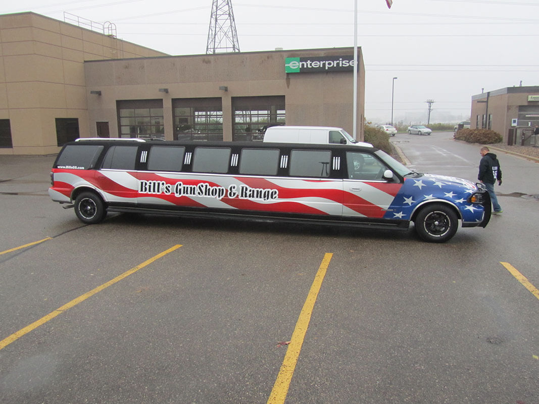 Brand Ink Limousine Vehicle Wrap