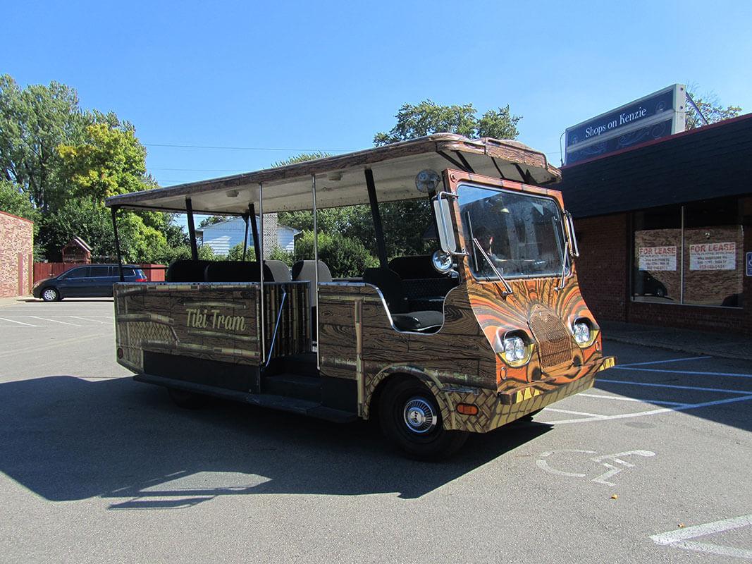 Brand Ink Tram Vehicle Wrap