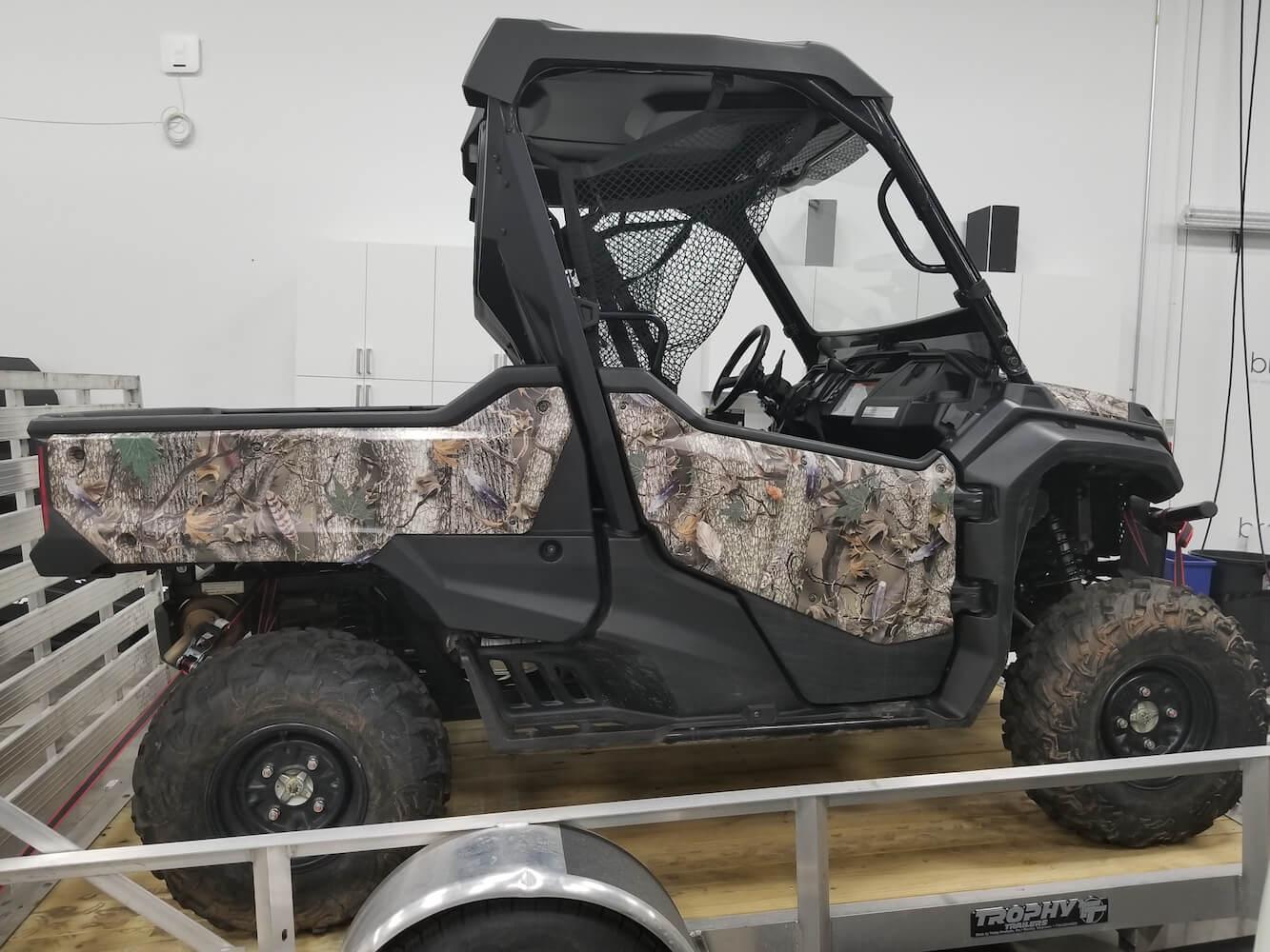 Brand Ink ATV utility vehicle wrap