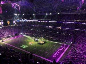 U.S. Bank Stadium Smartphone Light Tabs