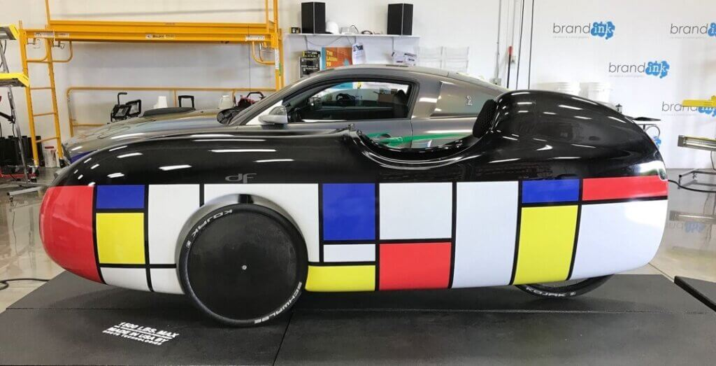 Brand Ink exotic car vehicle wrap