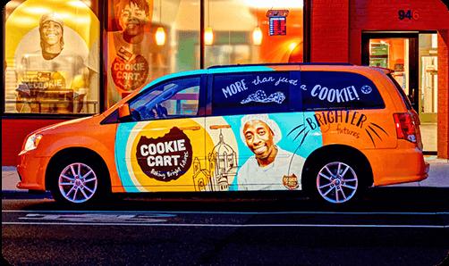 Cookie Cart Vehicle Wrap