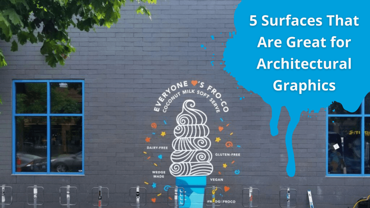 Can I Wrap That? 5 Surprising Surfaces That Are Great for Architectural Graphics