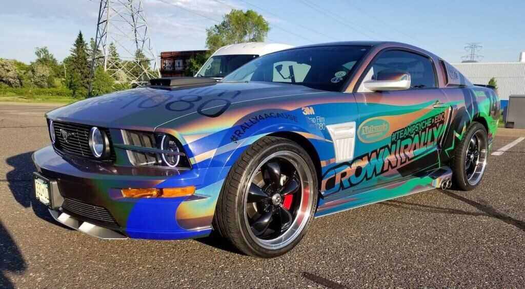 Brand Ink Ford Mustang Car Wrap