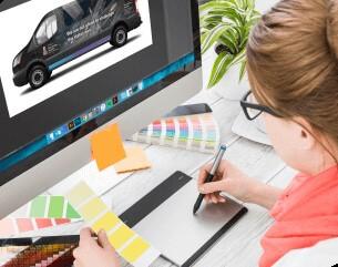 Brand Ink Vehicle Wrap Design