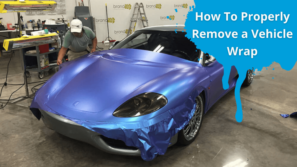 How To Properly Remove a Vehicle Wrap