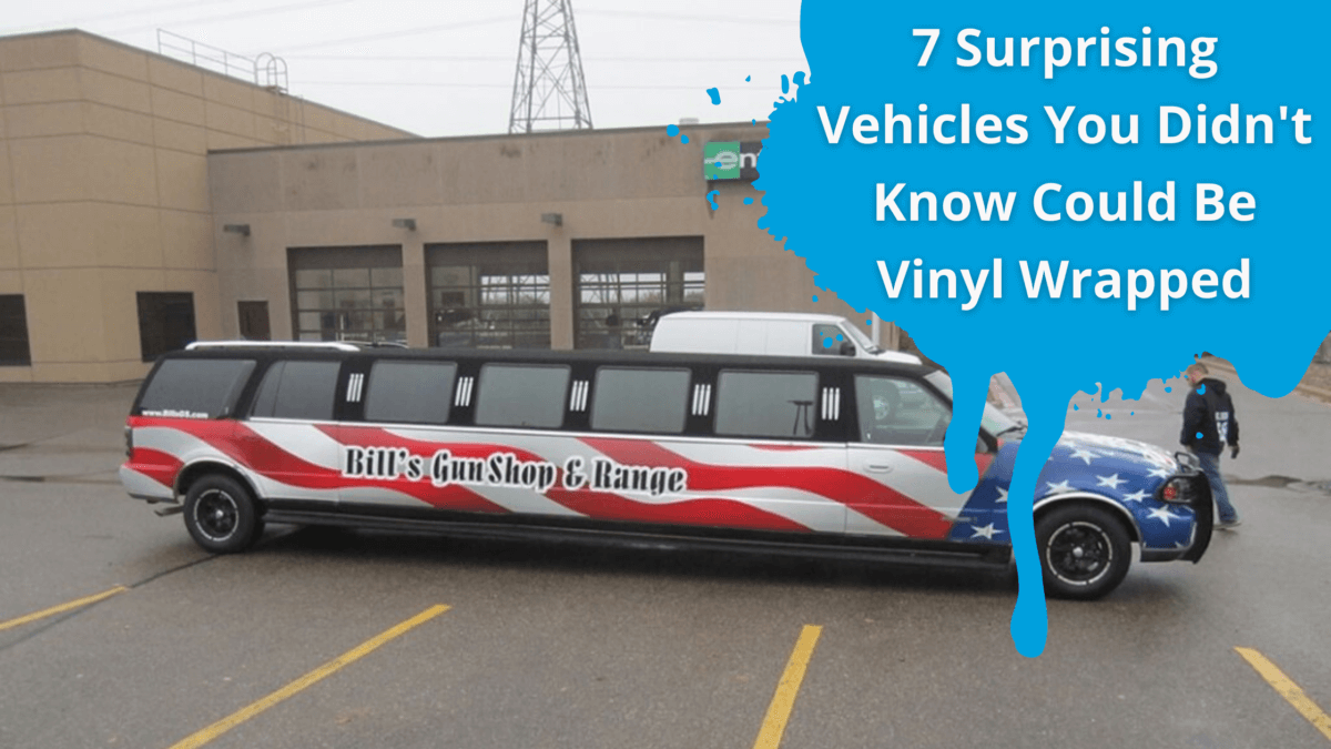 Surprising Vehicles That Can Be Vinyl Wrapped